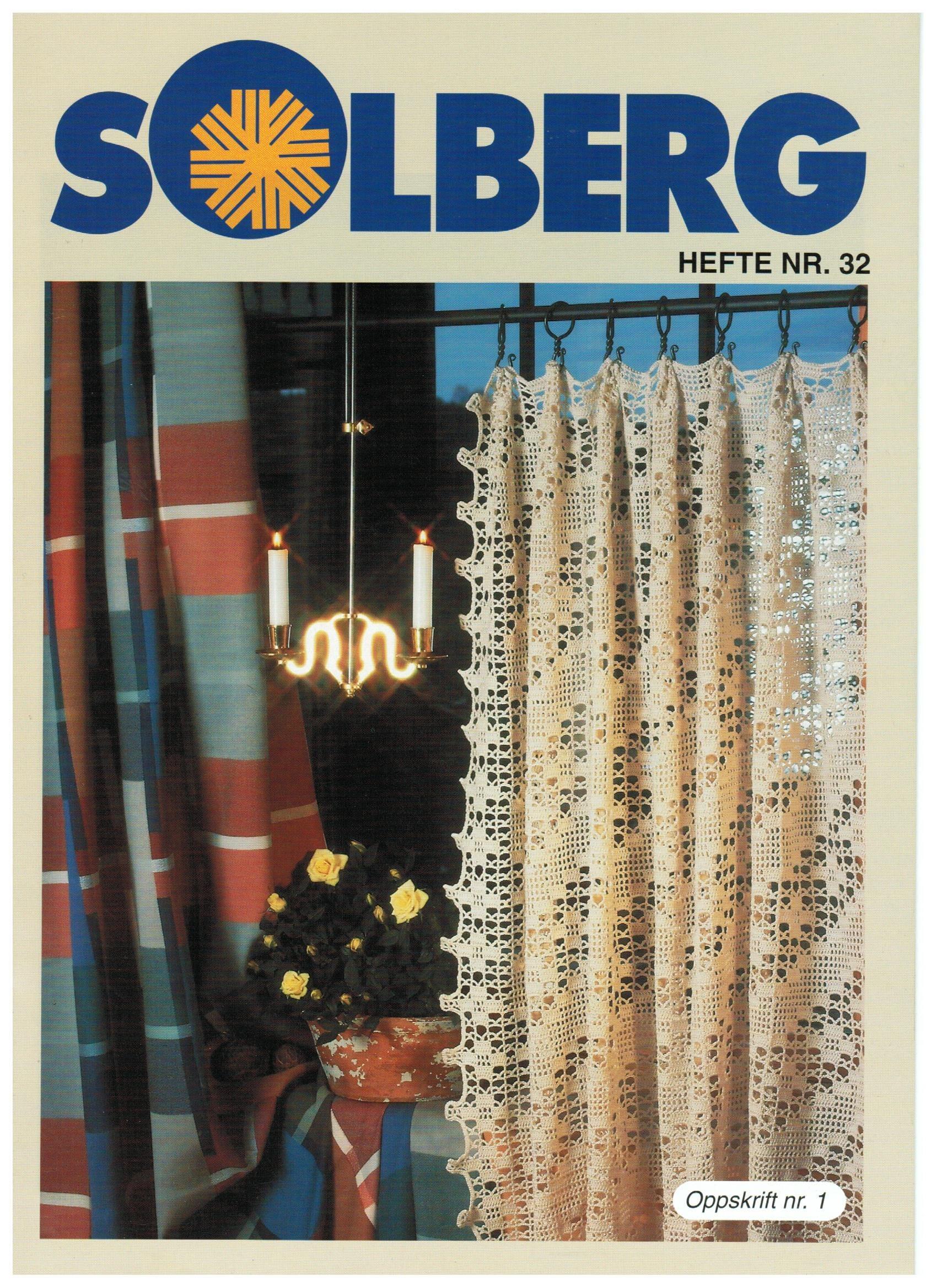 Solberg hekleoppskrifter